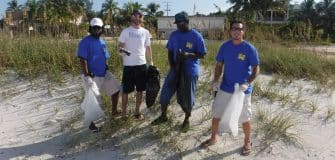 SGA beach cleanup Oct. 2016 (3)