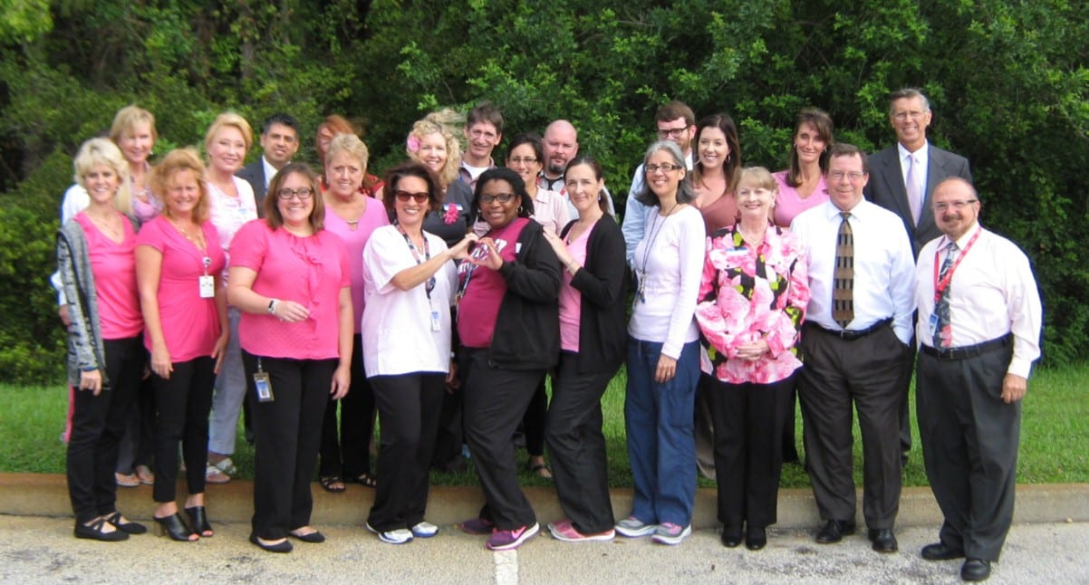 The Daytona Beach Campus Supports Breast Cancer Awareness Month