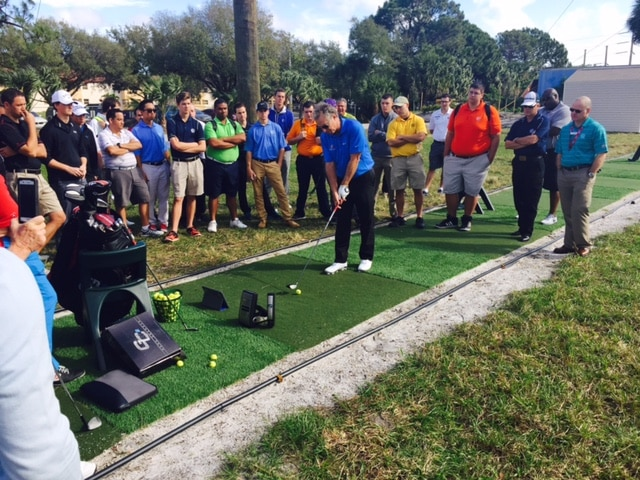 College of Golf Students Enjoy Interactive Session with Bobby Clampett