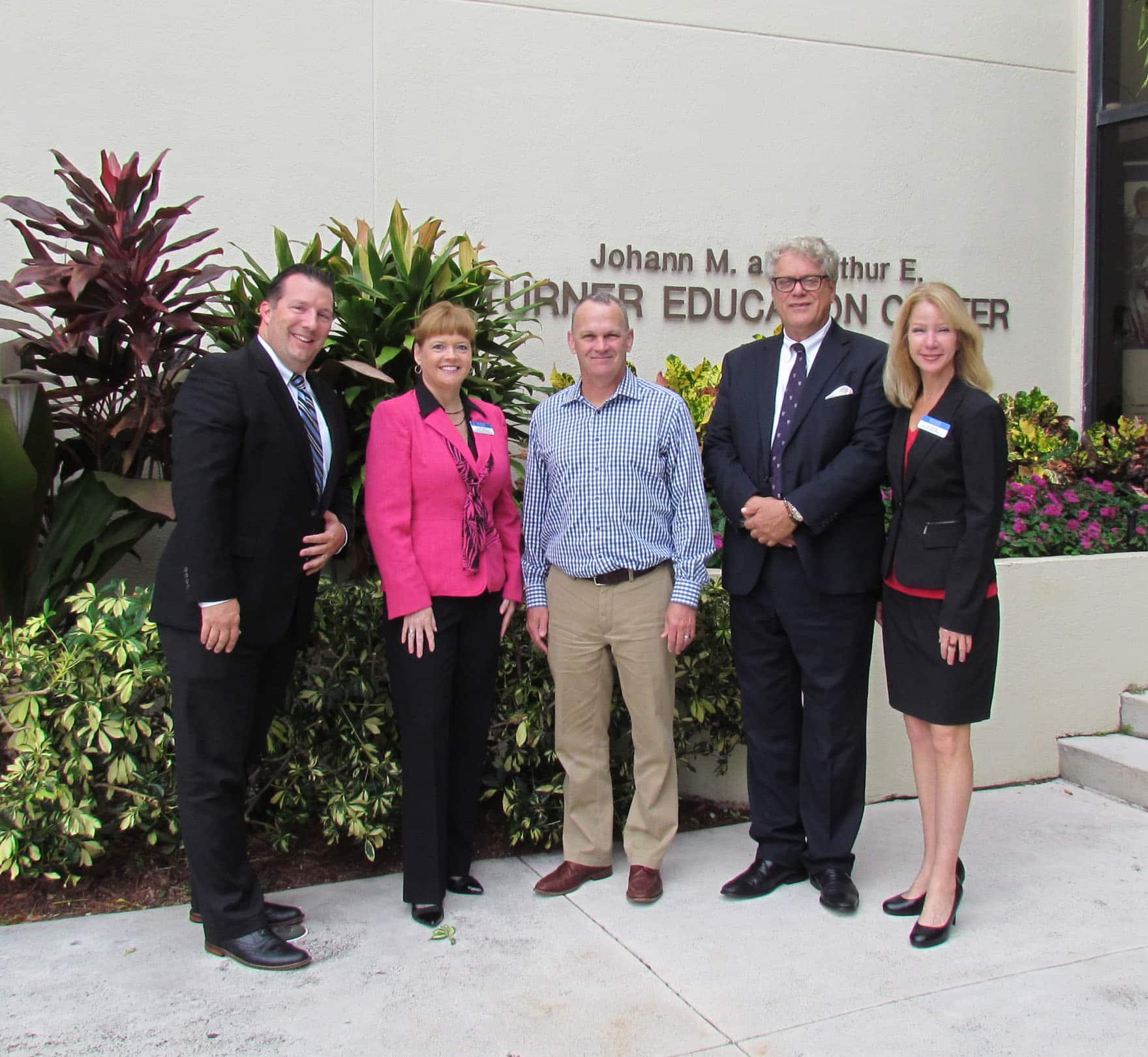 Incoming Speaker of the Florida House of Representatives, Richard Corcoran, Tours Flagship Campus