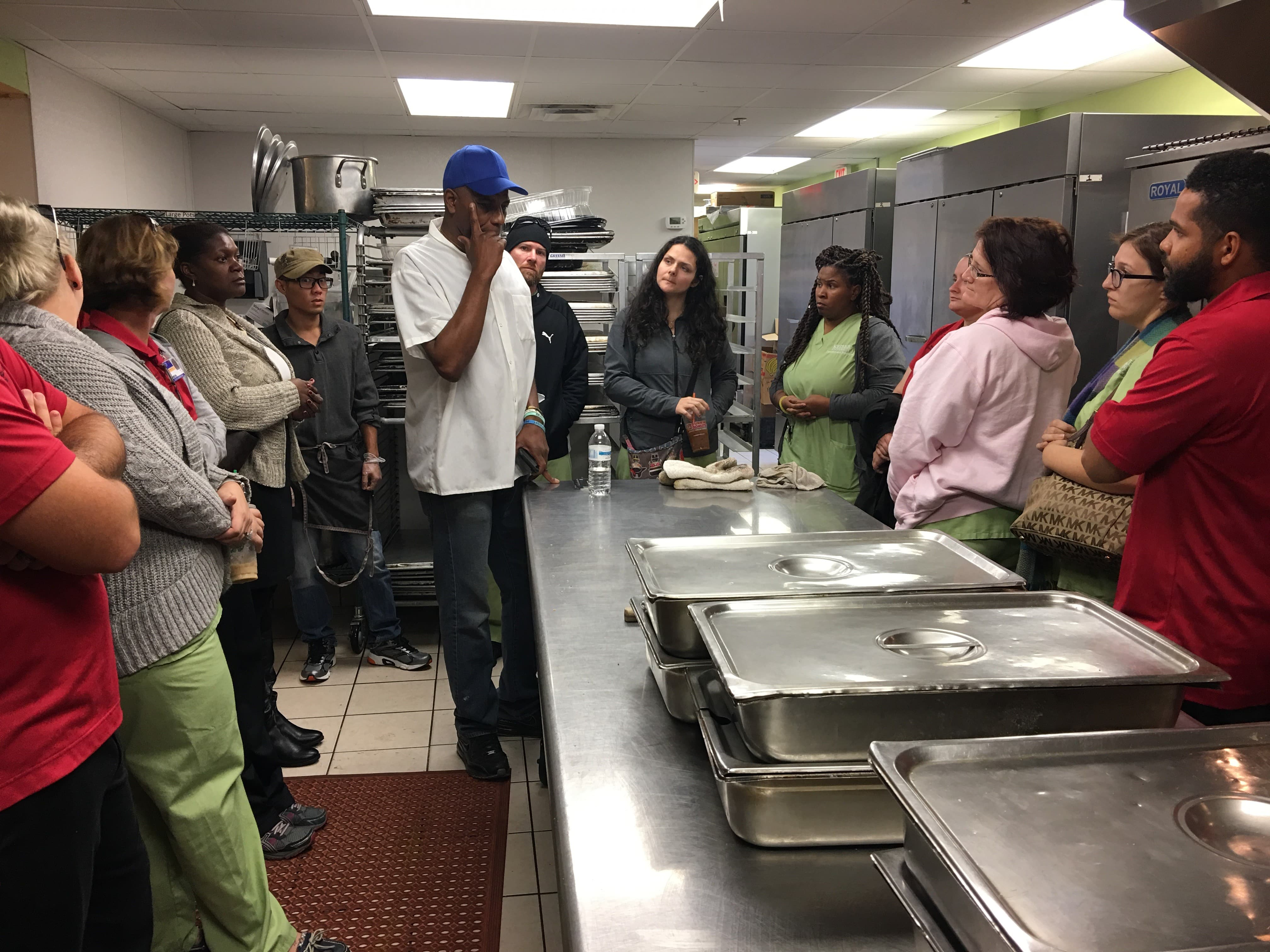 Melbourne Students Visit the Daily Bread Outreach Center