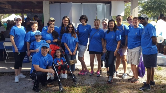 Team Keiser Walks for NAMI