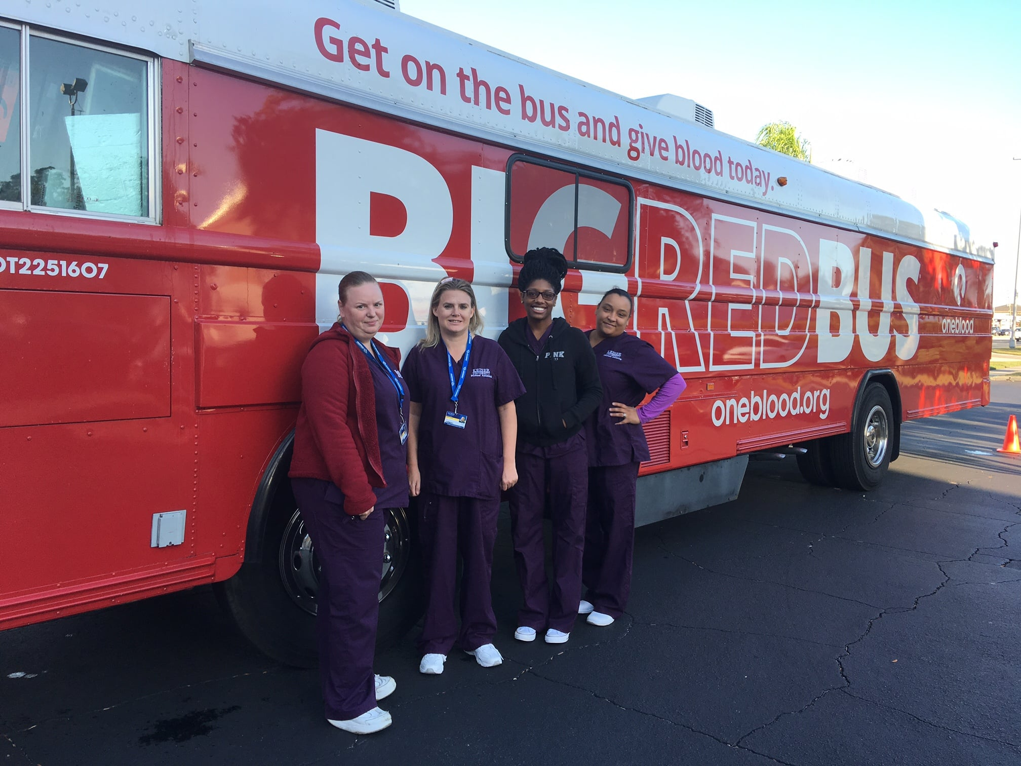 New Port Richey Holds a Blood Drive