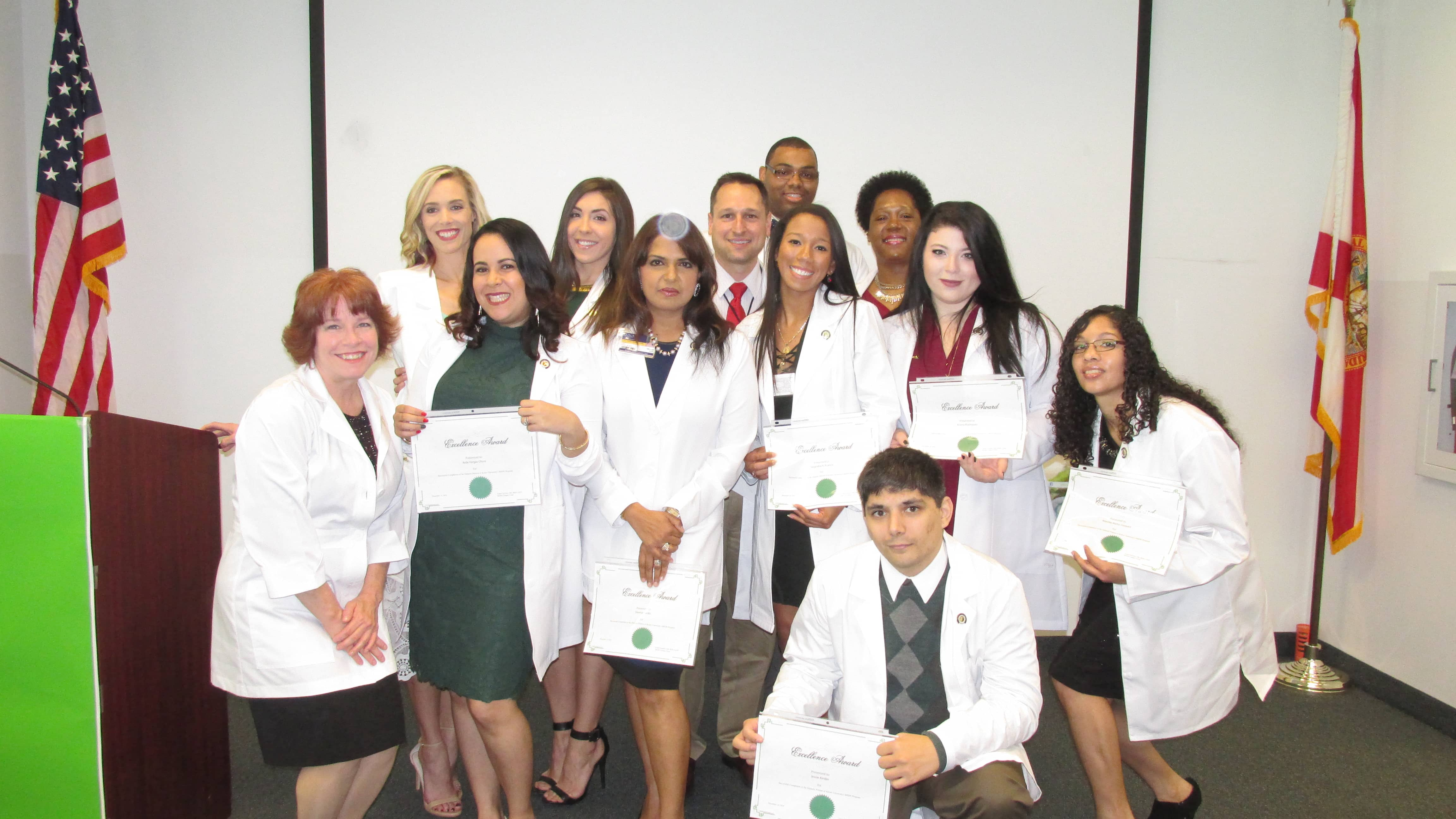 Lakeland Holds a Pinning Ceremony for the Dietetics & Nutrition Program