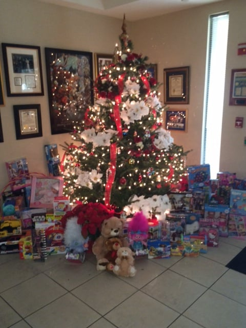 The OOC Collects Toys to Donate to Toys for Tots