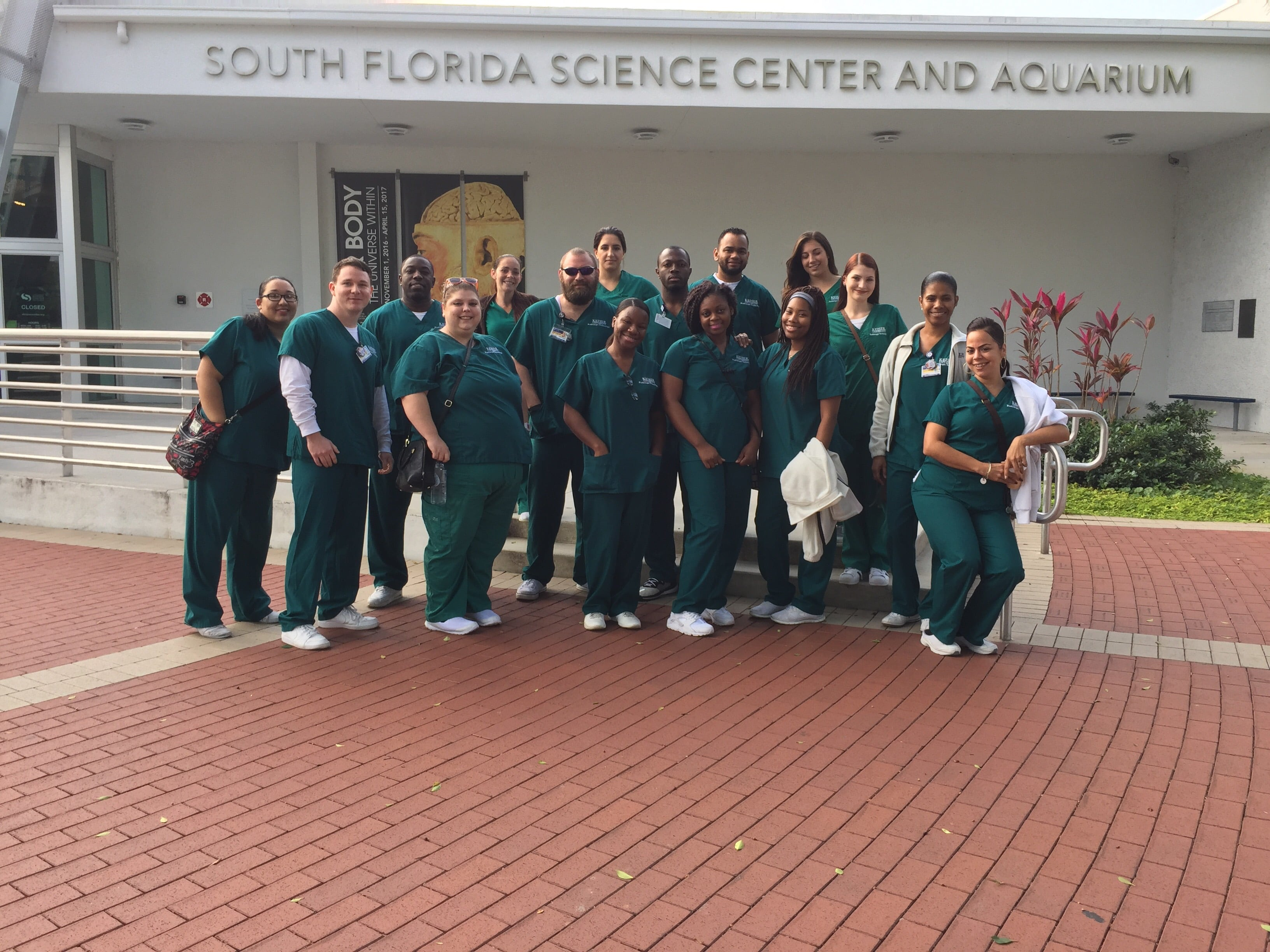 RT Students Visit the South Florida Science Center & Aquarium