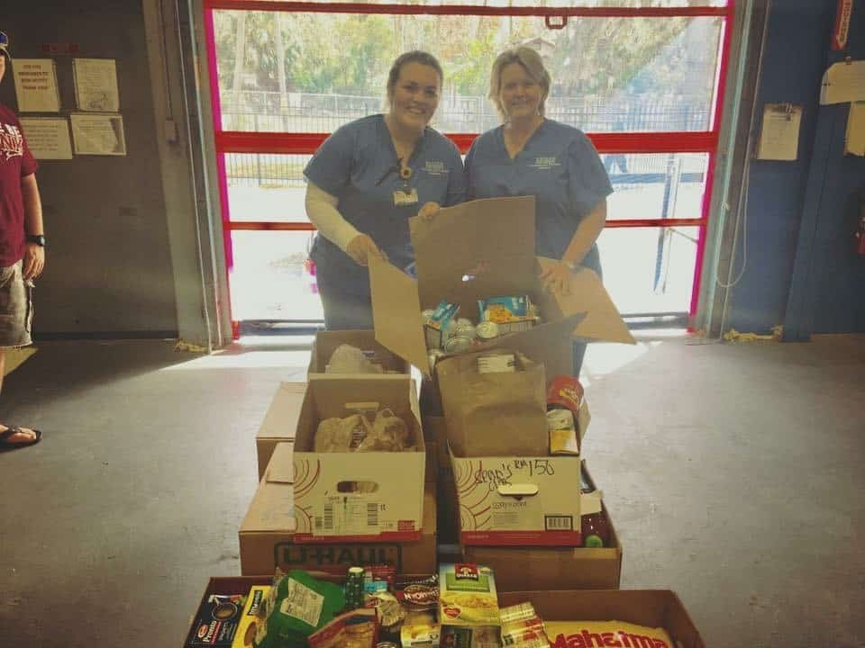 Daytona's SOTA Collects Food for Second Harvest