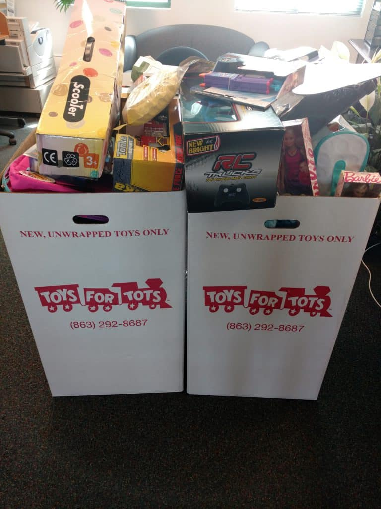 Toys For Tots Mission Statement : Lakeland holds a successful toys for tots drive keiser
