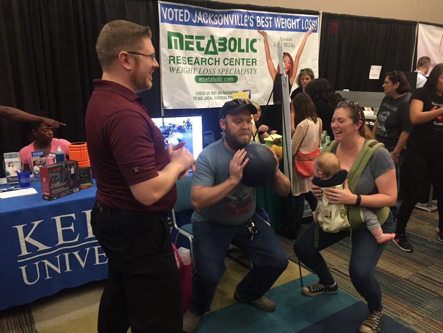Representatives from the Jacksonville Campus Attend the 'Jax Health & Fitness Expo'