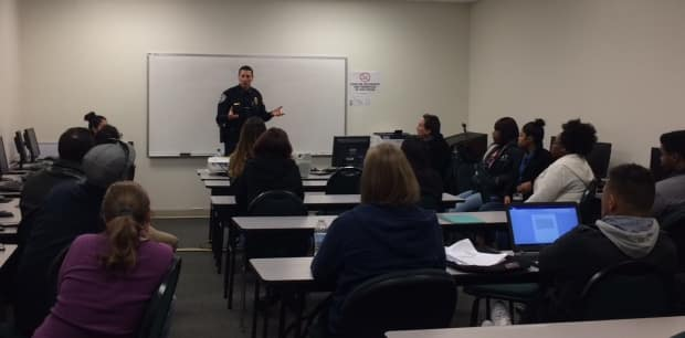 The Orlando Campus Hosts a Guest Speaker from the Altamonte Springs Police Department