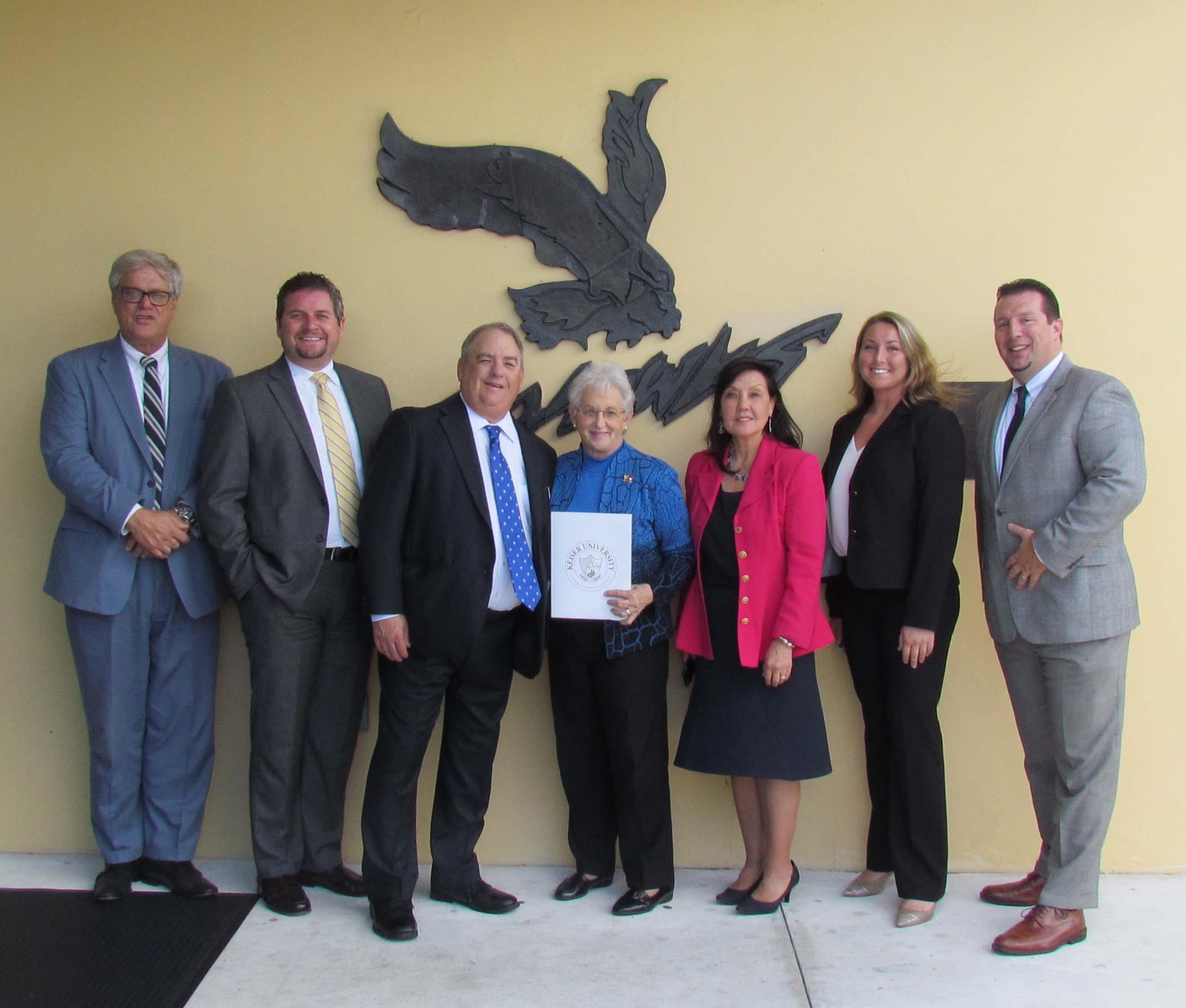 Congresswoman Virginia Foxx Visits the Flagship Campus