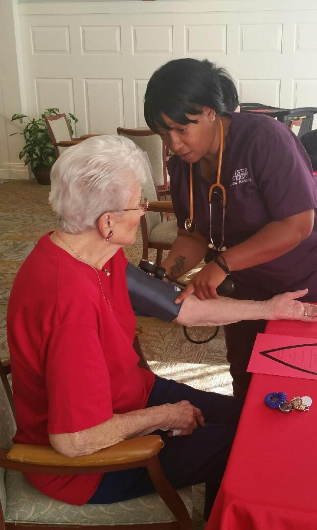 Medical Assisting Students Participate in an American Heart Health Event