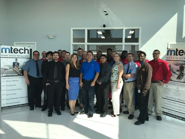Sarasota IT Students visit MTech