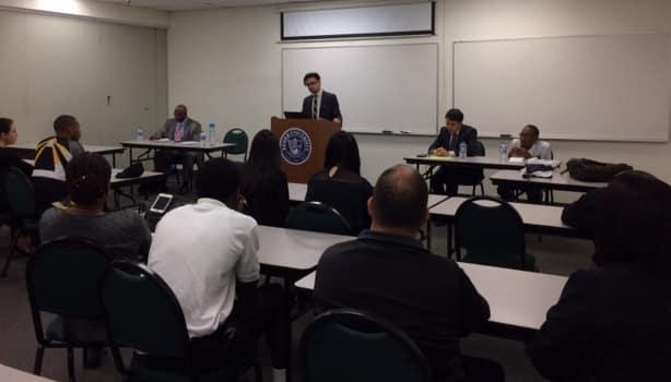 The Orlando Campus Hosts The Rollins College Debate Program