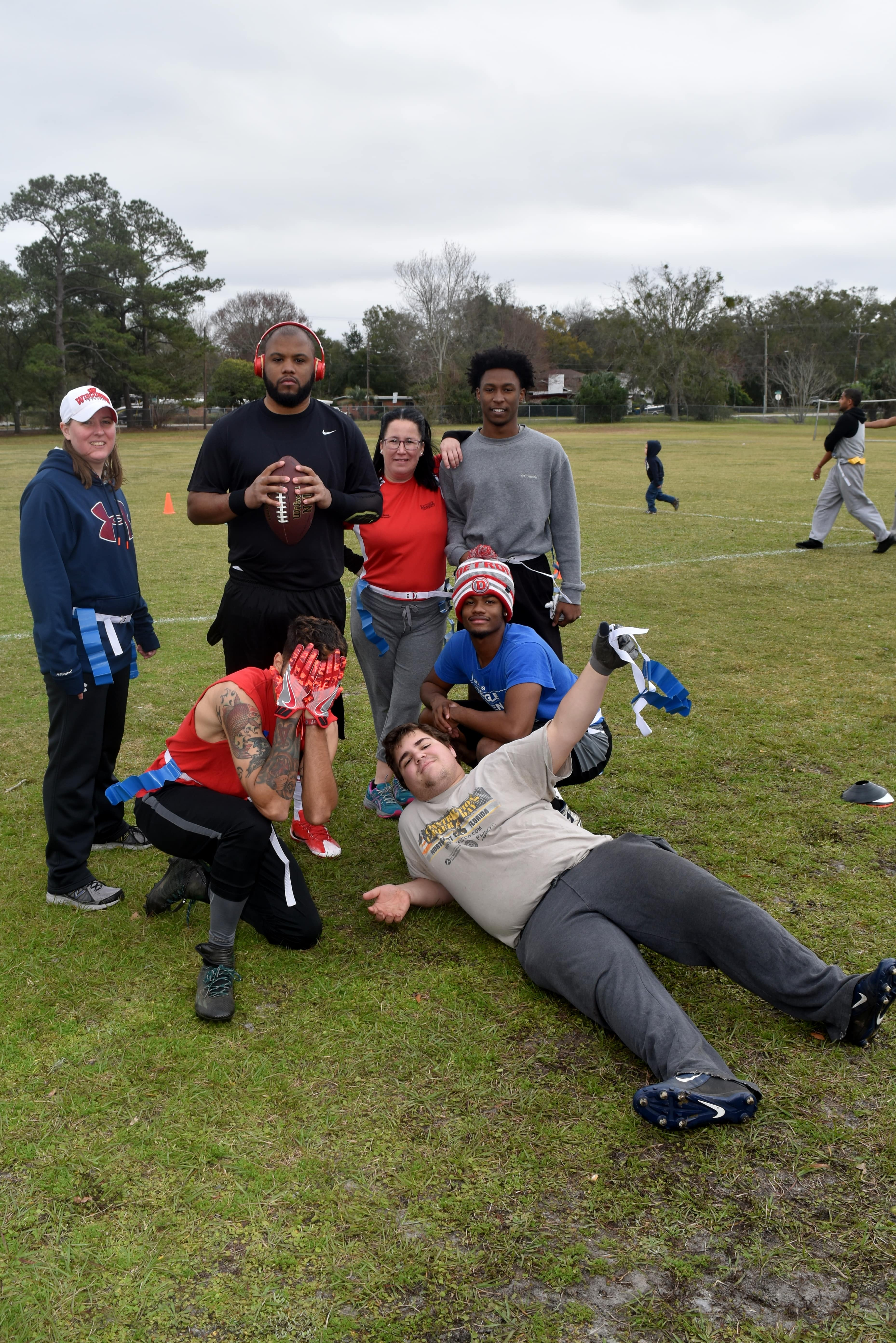 "Jacksonville Holds Inaugural ""Seahawk Bowl"" Co-ed Flag Football Tournament"