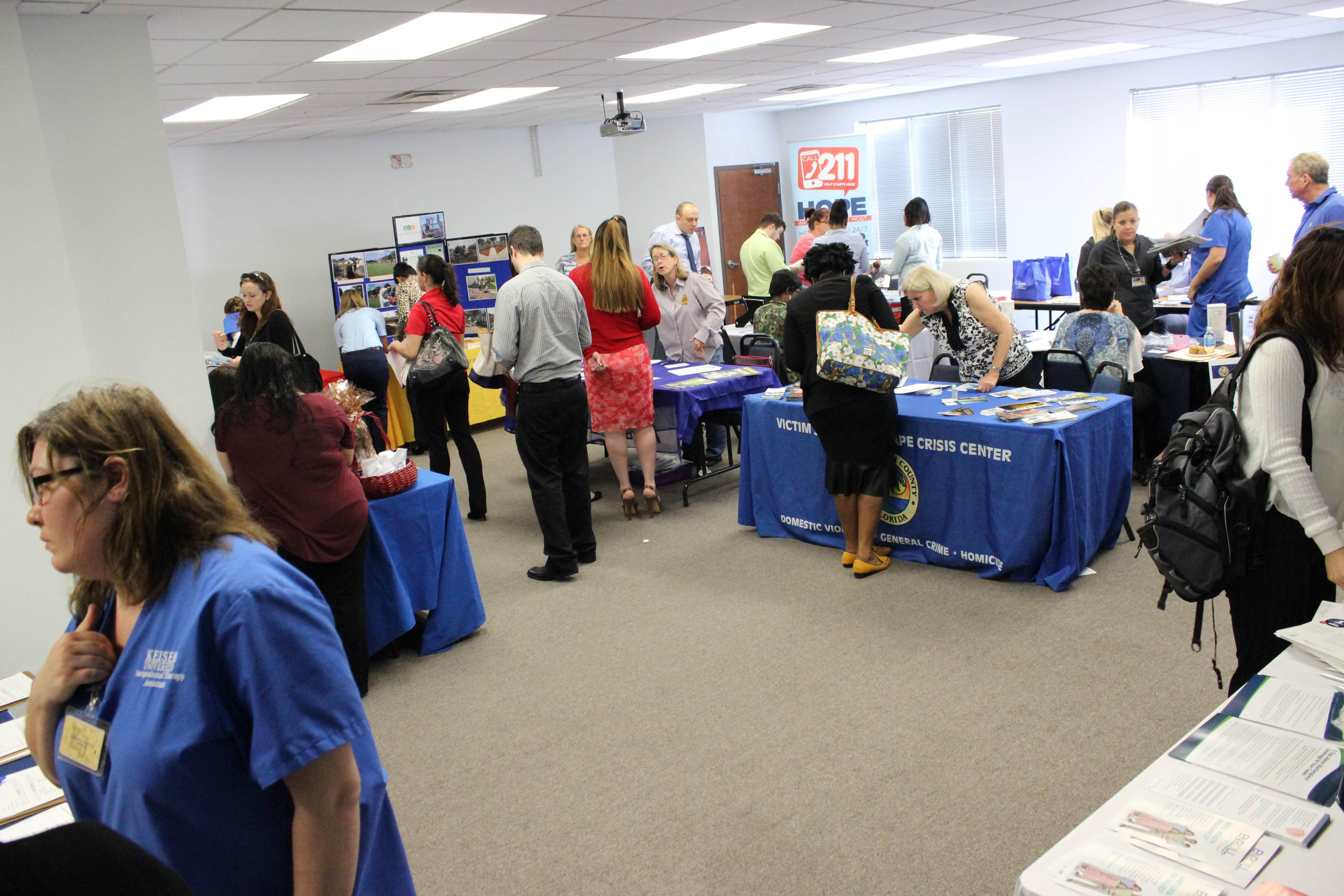 Keiser University Tallahassee >> West Palm Beach Holds a Community Service Fair - Keiser ...