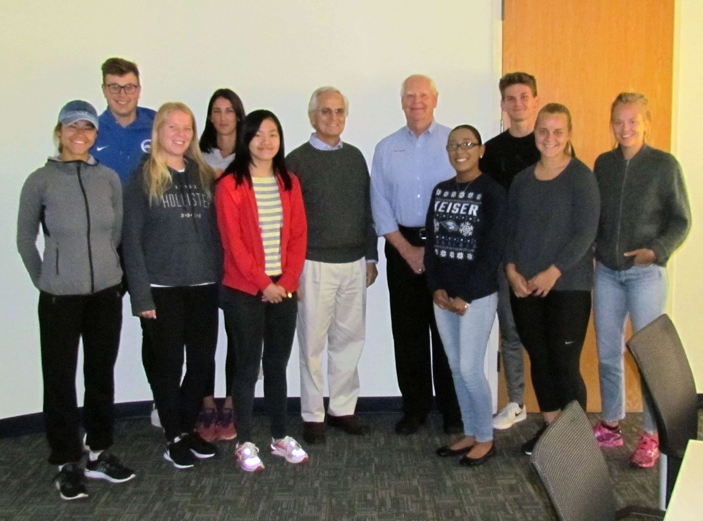 Entrepreneur and CEO Bill Kent Shares Insight with Flagship Students in  International Management Class