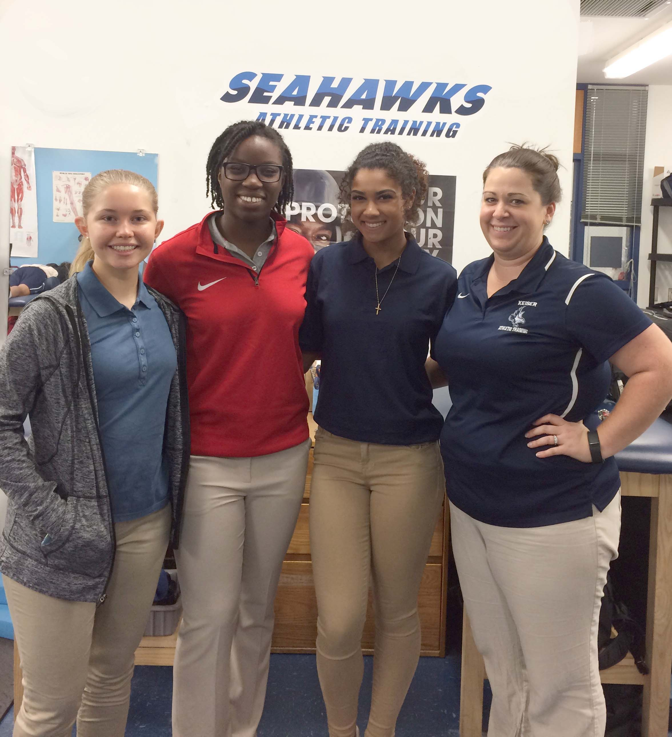 Flagship Athletic Training Department Welcomes High School Students for Career Day
