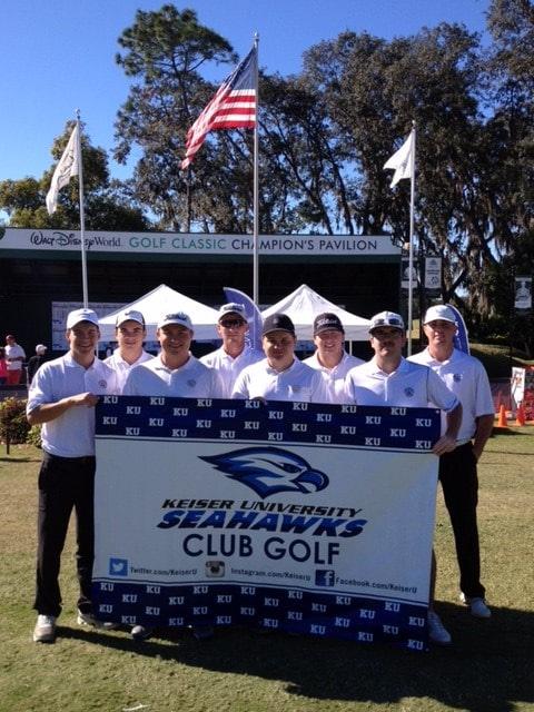 Pre-Season Rankings Place the Keiser University National Collegiate Club Golf Association (NCCGA) Team 10th in the Nation