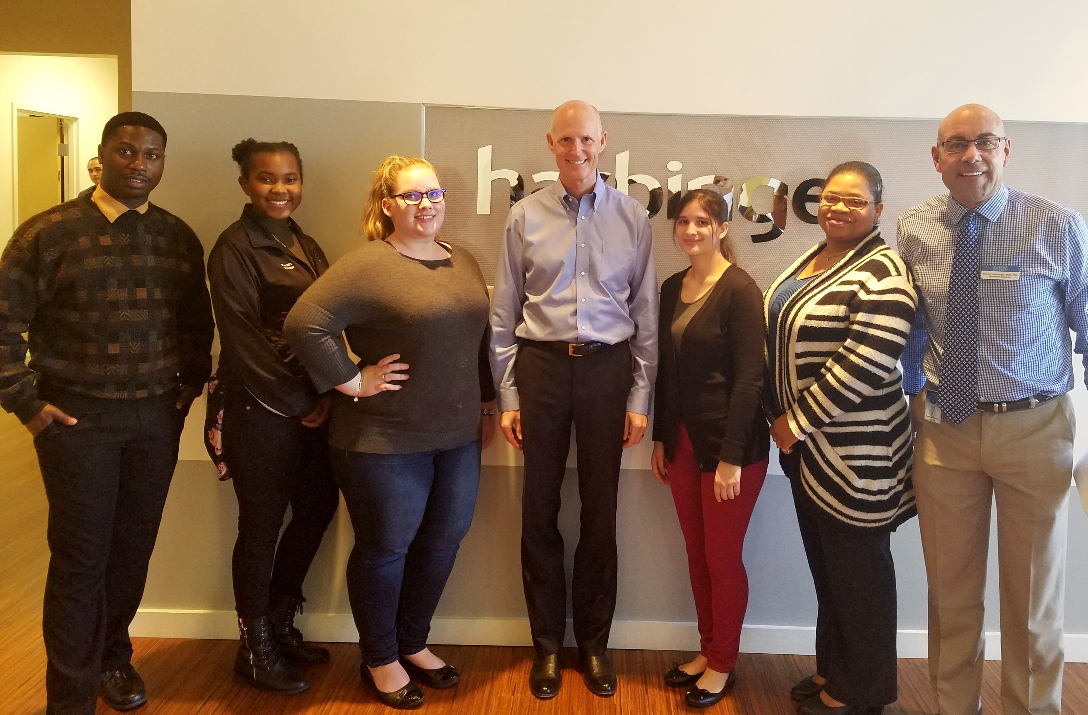 Hospitality Students from Jacksonville Campus Meet Governor Rick Scott