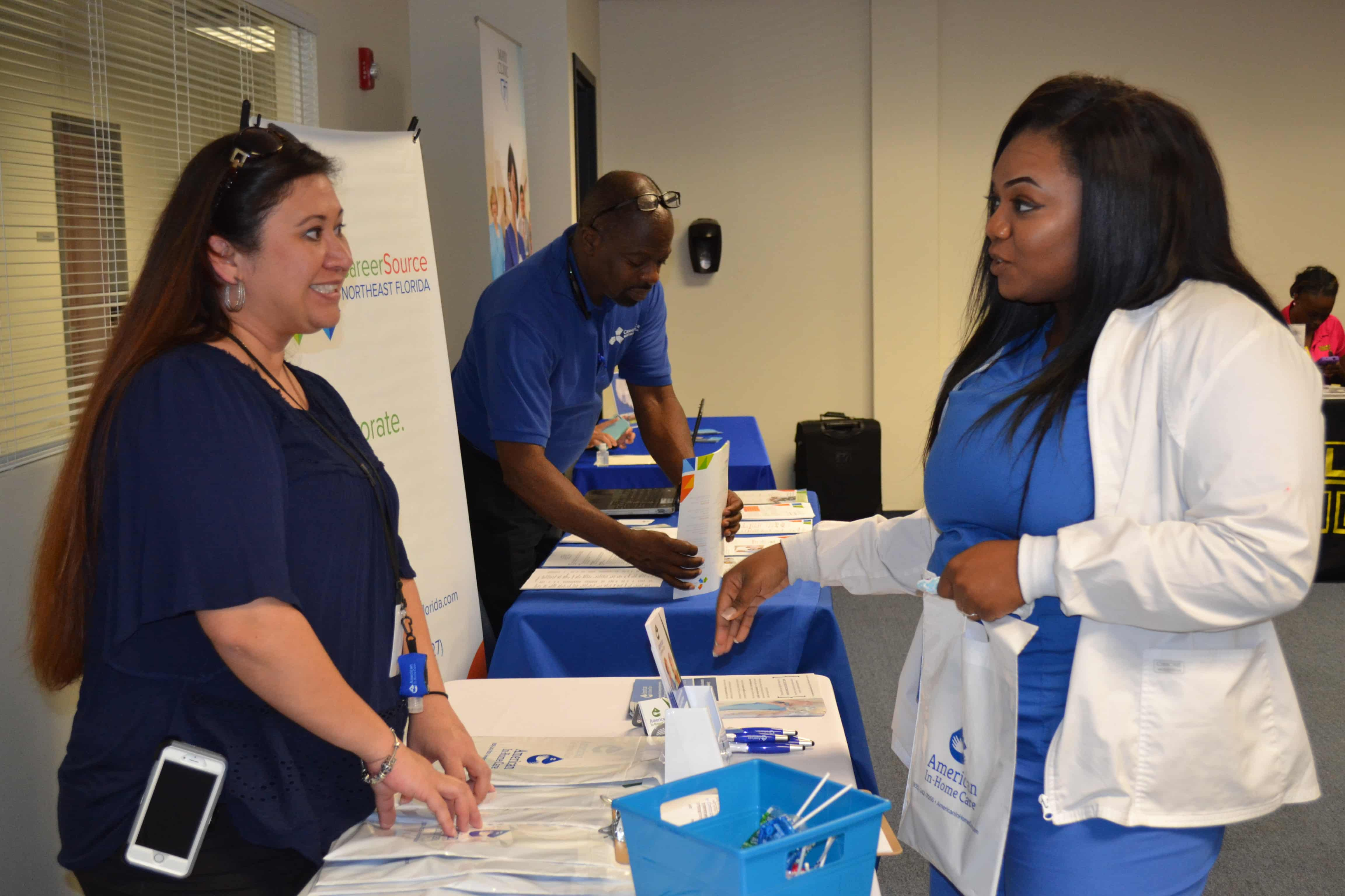 Jacksonville Holds a Job Fair