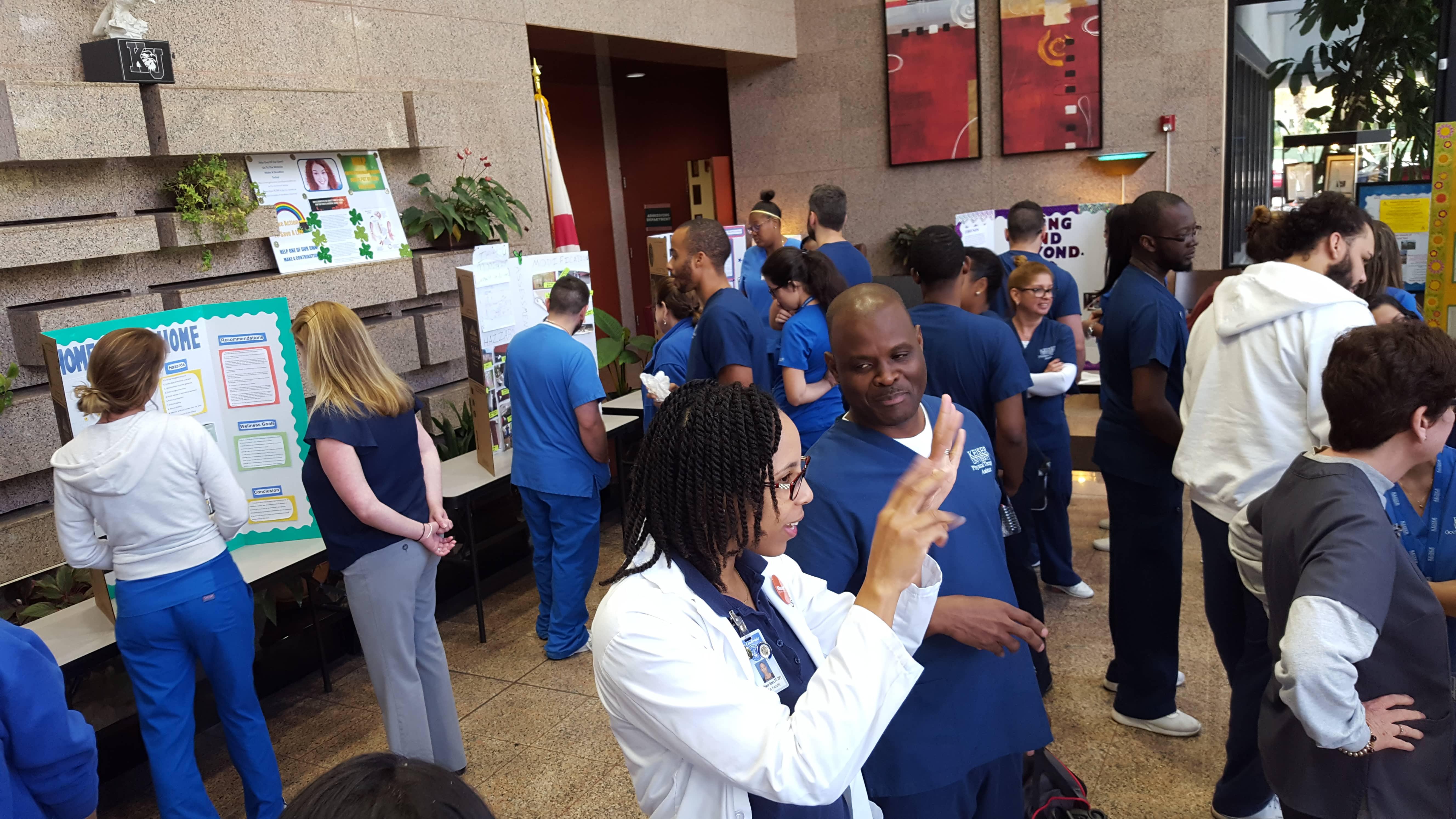 OTA Students Create Wellness Programs