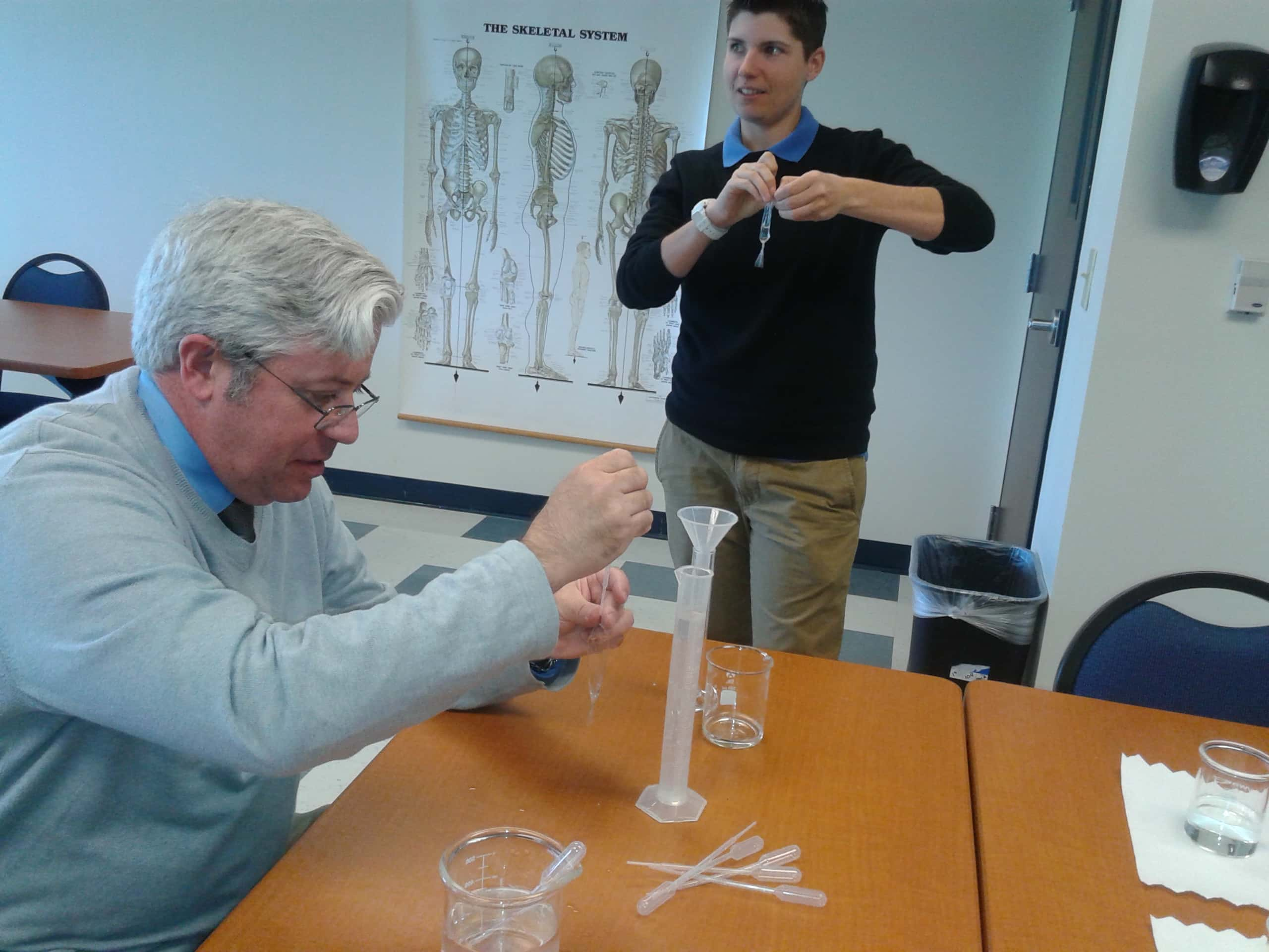 Biomedical Students Experimenting in Jacksonville