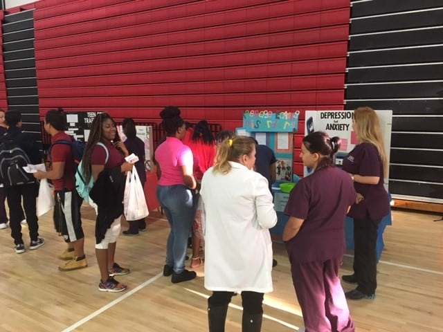 Port St. Lucie Faculty, Staff, and Students Participate in Health and Wellness Fair
