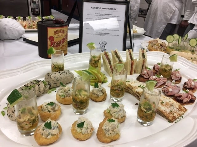Sarasota Culinary Students Create a Buffet of Goodness