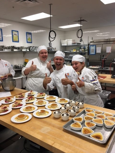 Sarasota Center for Culinary Arts Students Showcase Creativity