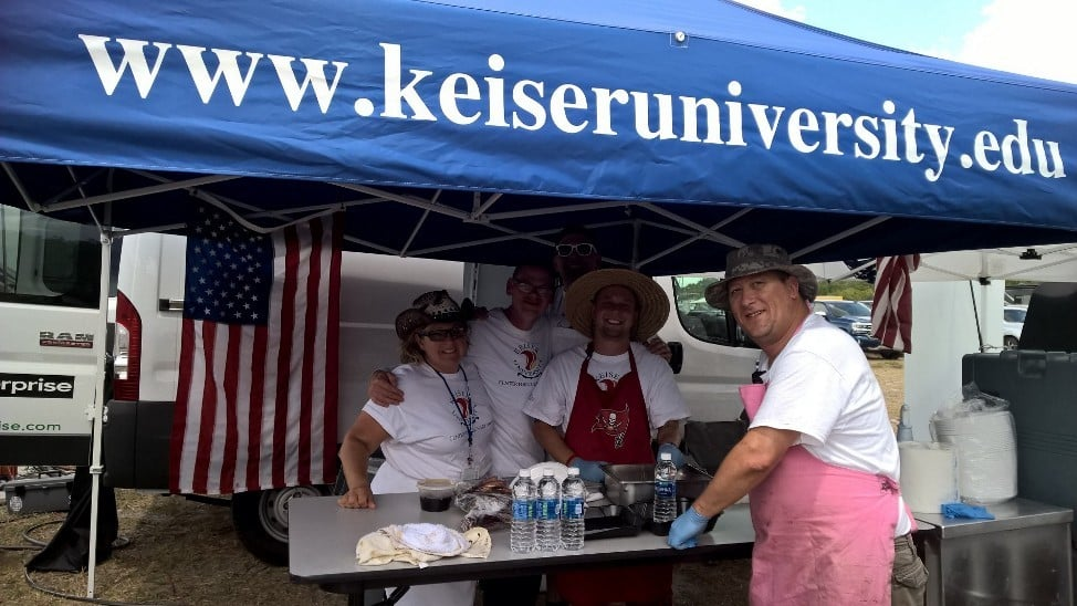 Sarasota Center for Culinary Arts Competition Team Participates in BBQ Competition
