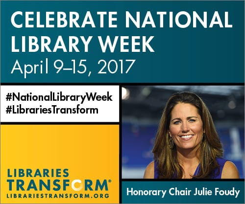 #NationalLibraryWeek – Mary Thompson, Ft. Myers Librarian