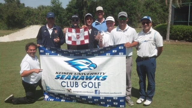 Seahawks National Collegiate Golf Club Association Team Finishes Second in Regional Tournament