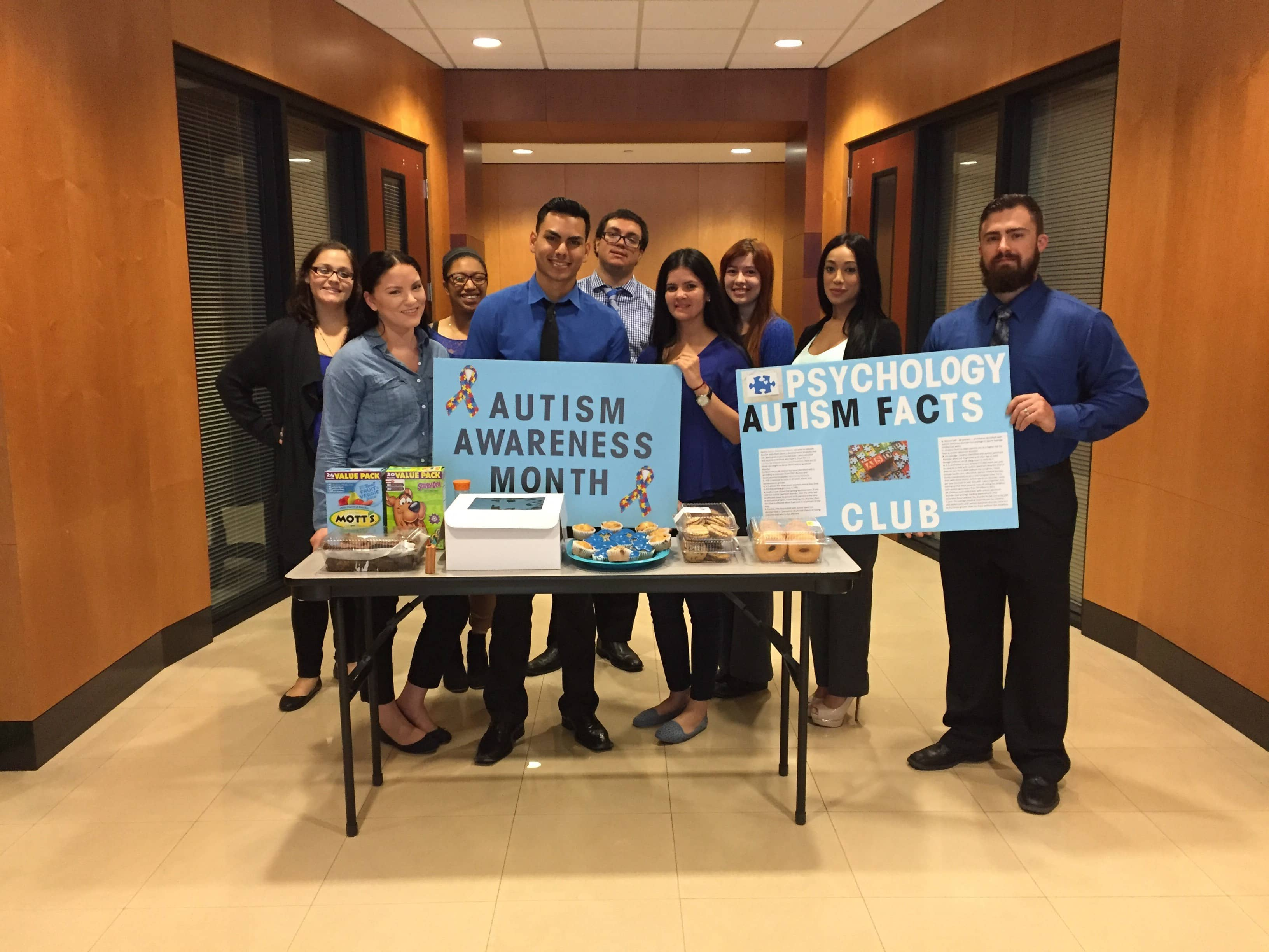 #AutismAwarenessMonth – Miami Psychology Students Raise Money for Autism Speaks