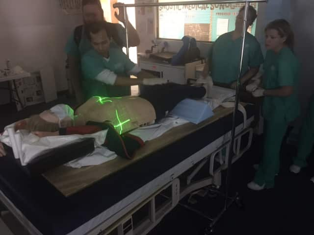 Radiation Therapy Students Learn New Techniques