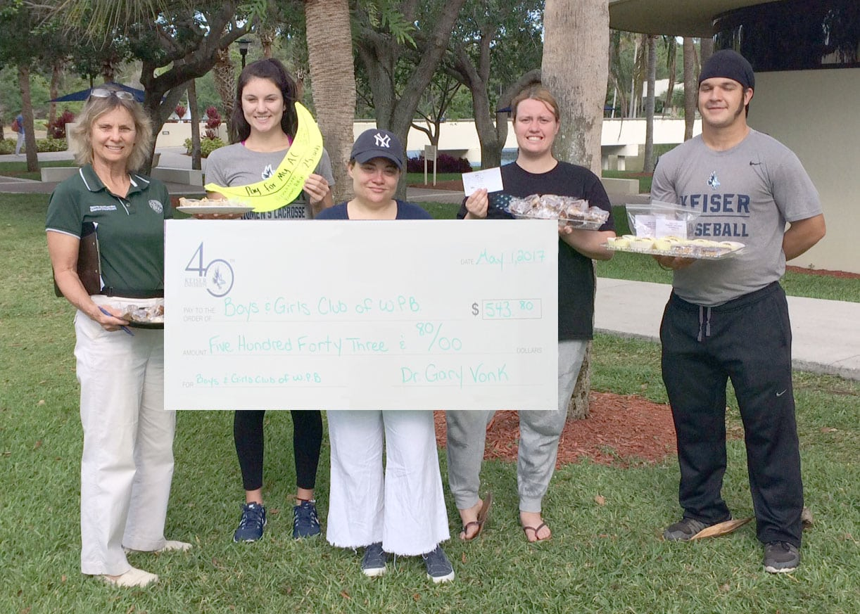 UPDATE!! Flagship SMFT Students Raised More than $500 in Bake Sale for Boys and Girls Club of West Palm Beach