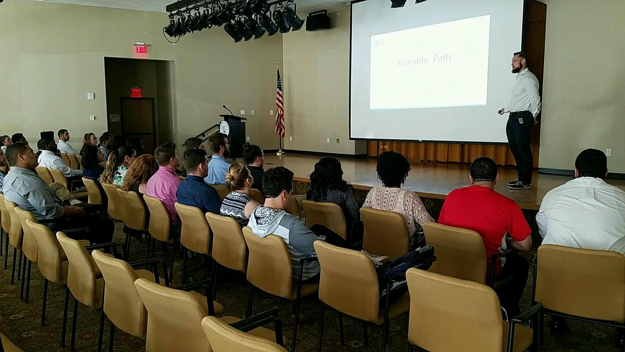 Tampa Students Receive Guest Lecture on Cancer Research