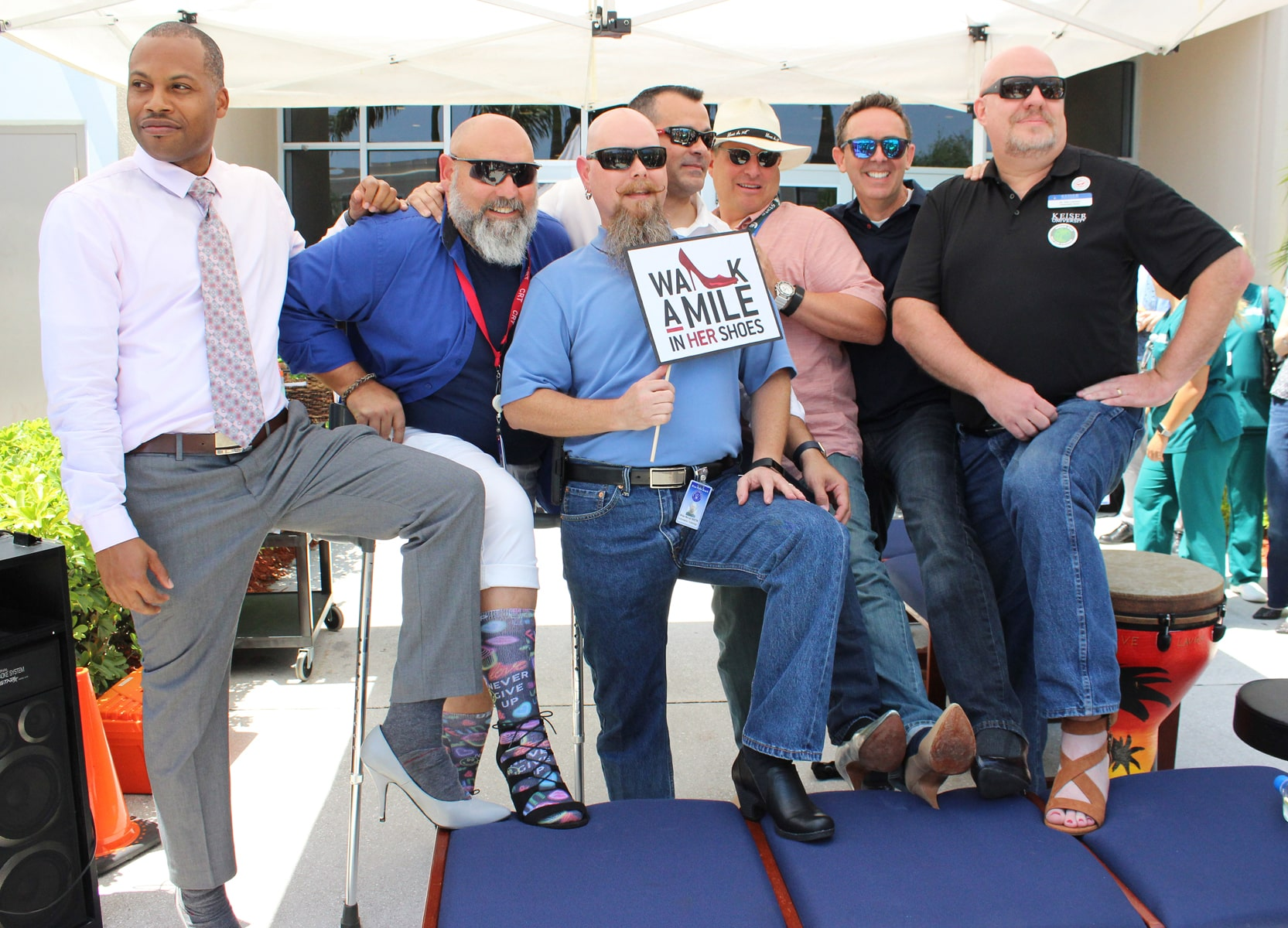 "West Palm Beach Campus Hosted a ""Walk a Mile in Her Shoes"" Event"