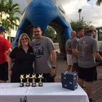 The West Palm Beach Campus Hosts the Keiser University Blue Line 5K