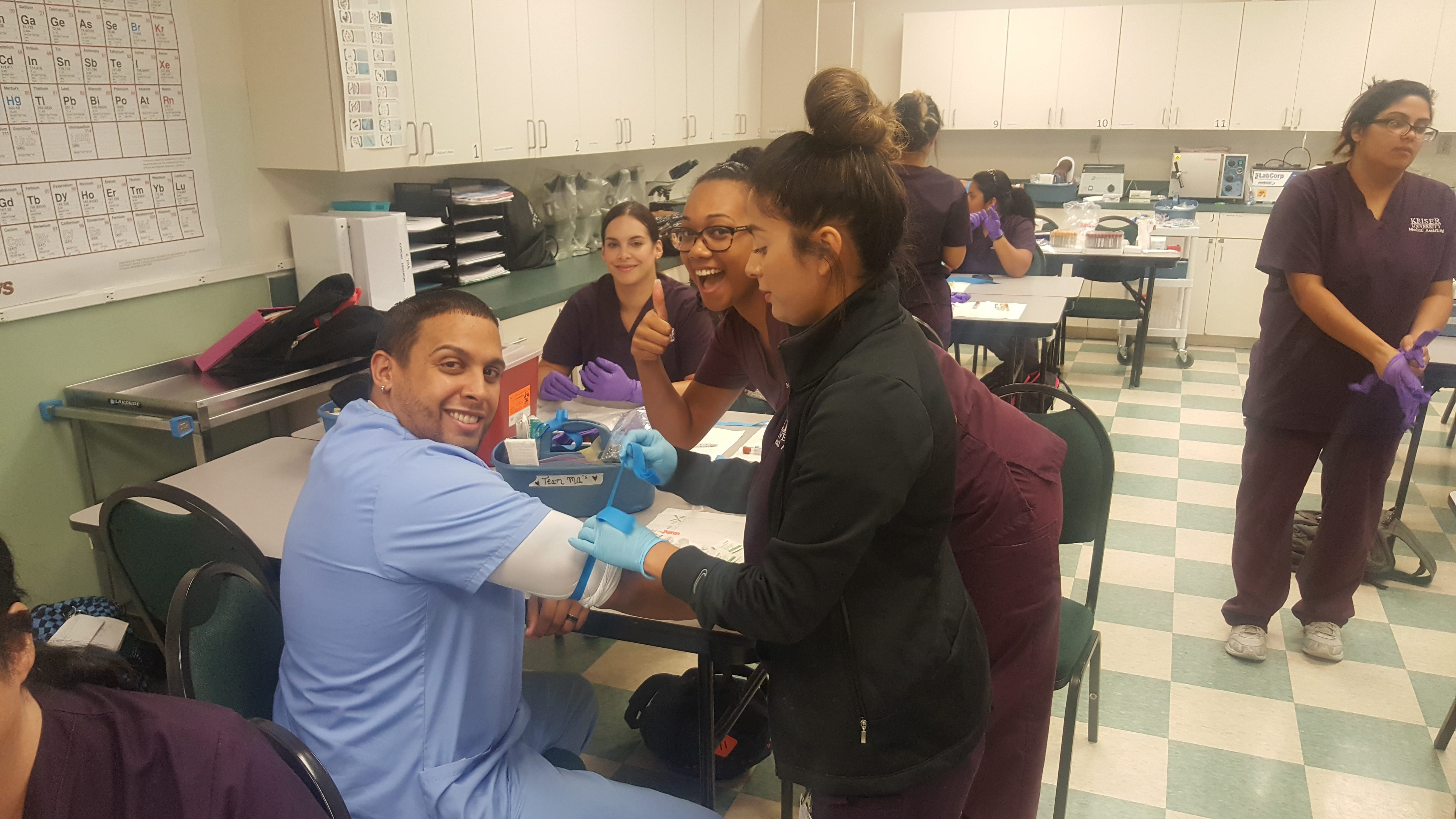 Orlando Medical Assisting And Medical Laboratory Technician Students