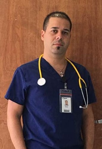 GRADUATE SPOTLIGHT for #NursesWeek – Reynier Hernandez, KU Miami