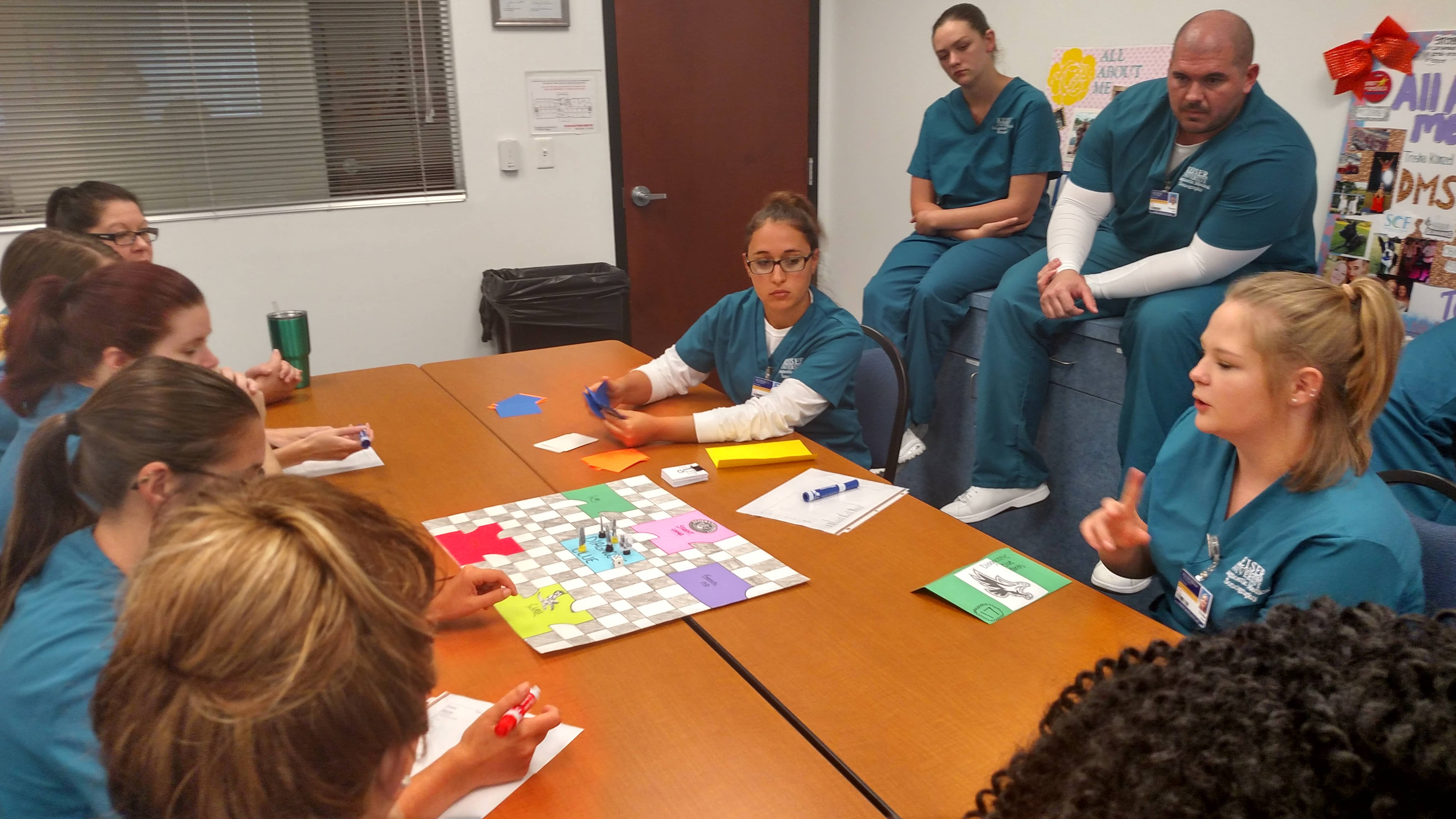 Diagnostic Clue Becomes Newest DMS Game to Sweep the Fort Myers Program