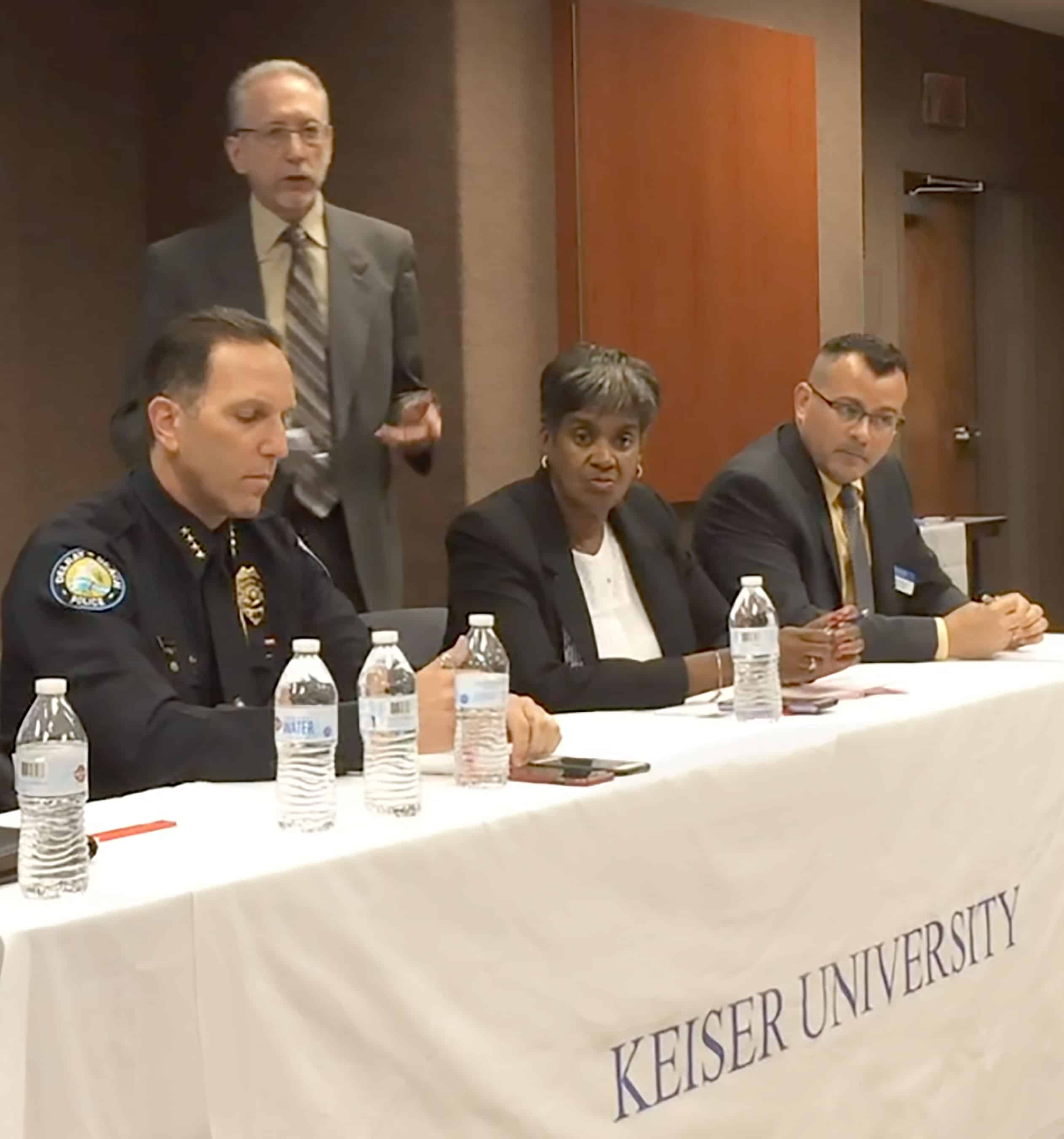 Keiser University Symposium Presents Community Policing   as an Effective Law Enforcement Tool