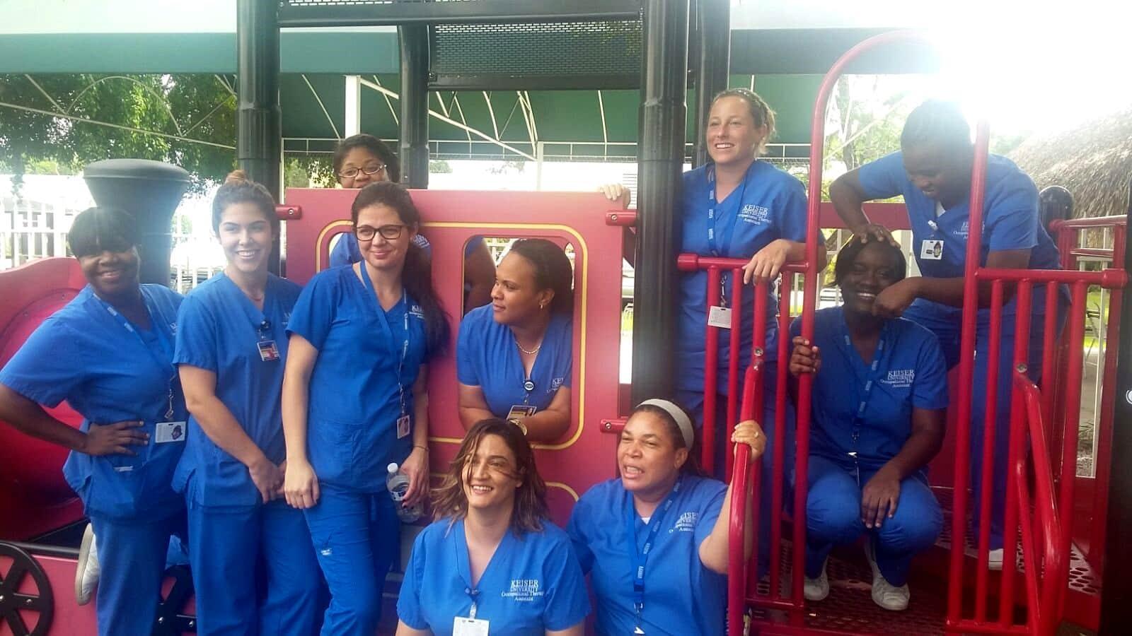 Ft. Lauderdale OTA Students Visit the Ann Storck Center
