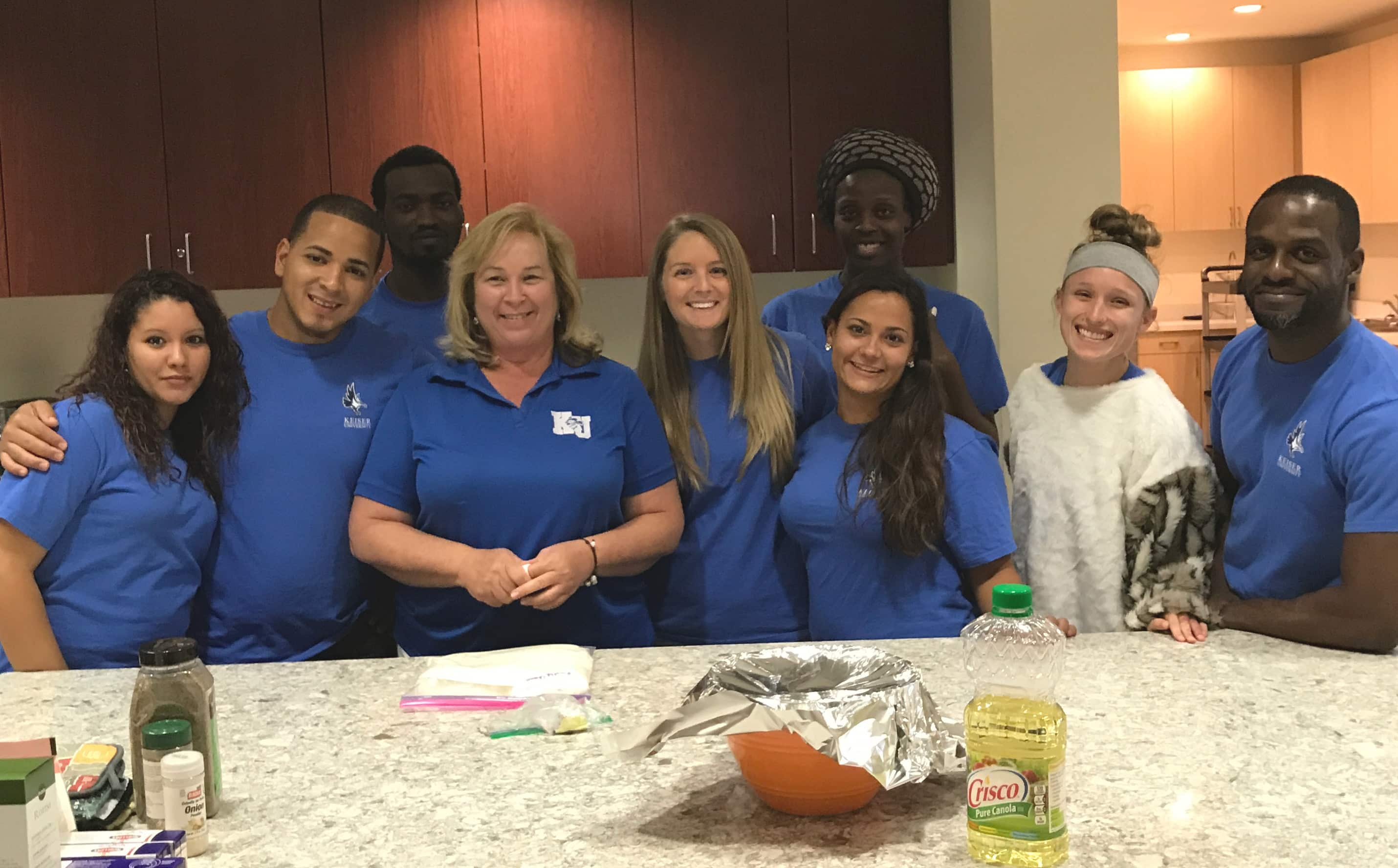 PTA Students Volunteer at the Quantum House