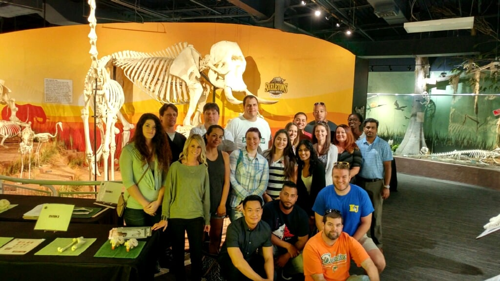Orlando RT Students Visit the Museum of Osteology