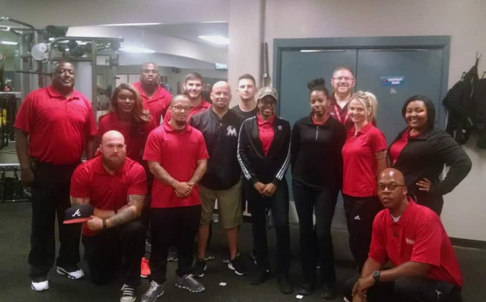 Jacksonville Students Visit an Athletic Training Facility