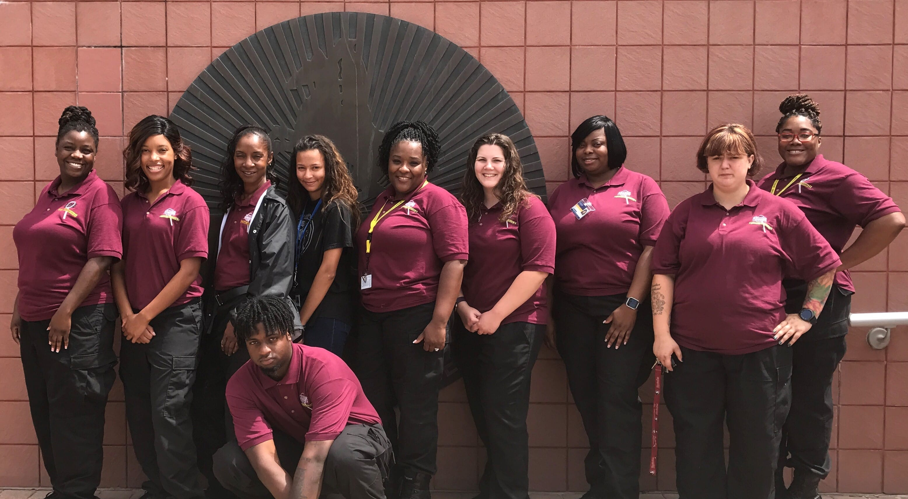 Jacksonville Students Visit Duval County Detention Facility