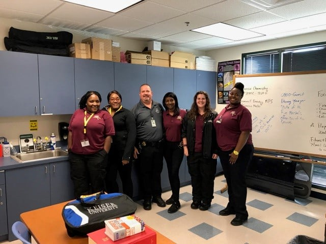 Jacksonville Forensic Students Welcome a Guest Speaker
