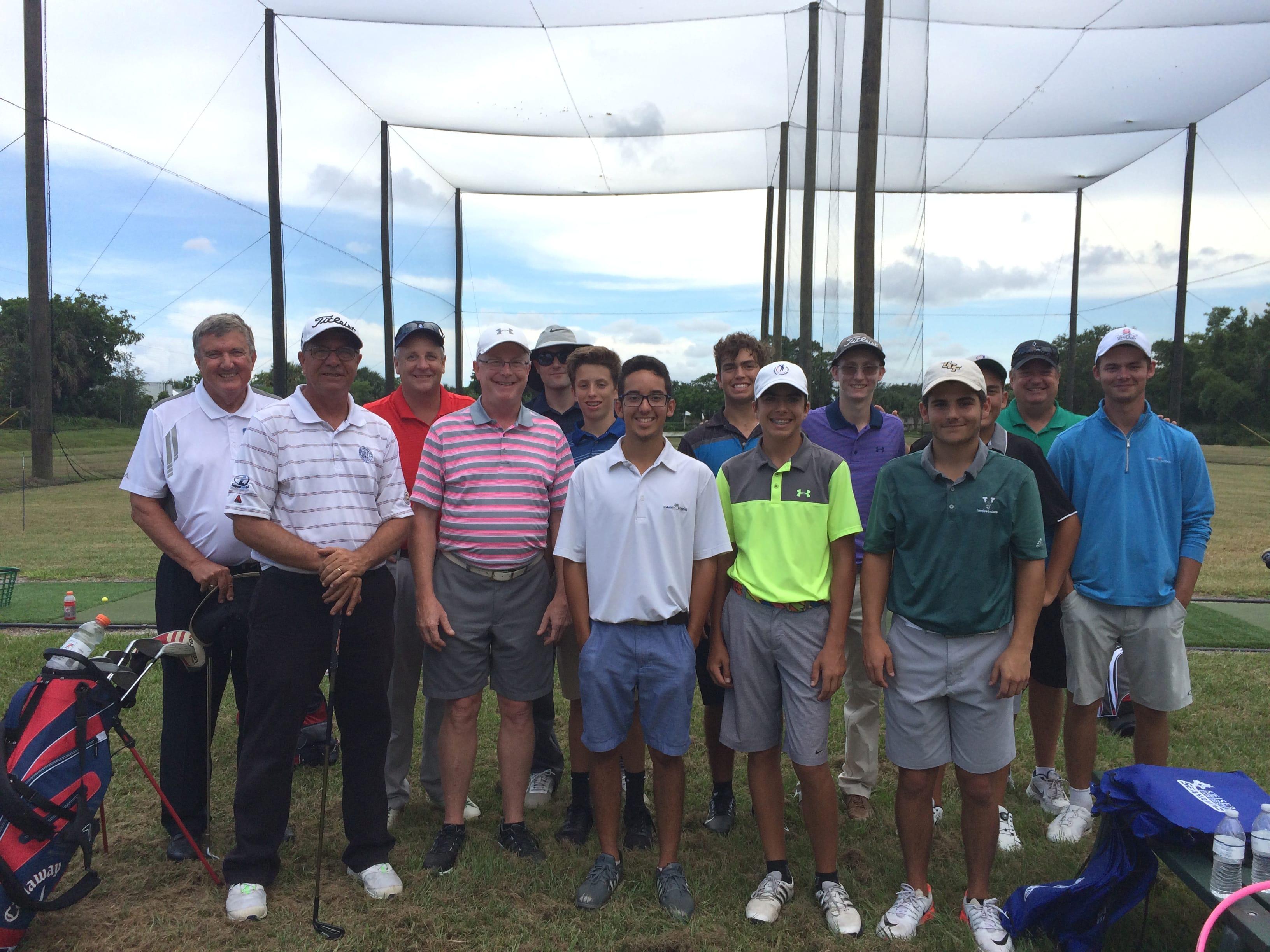 Flagship Campus Hosts Venice High School Golf Team